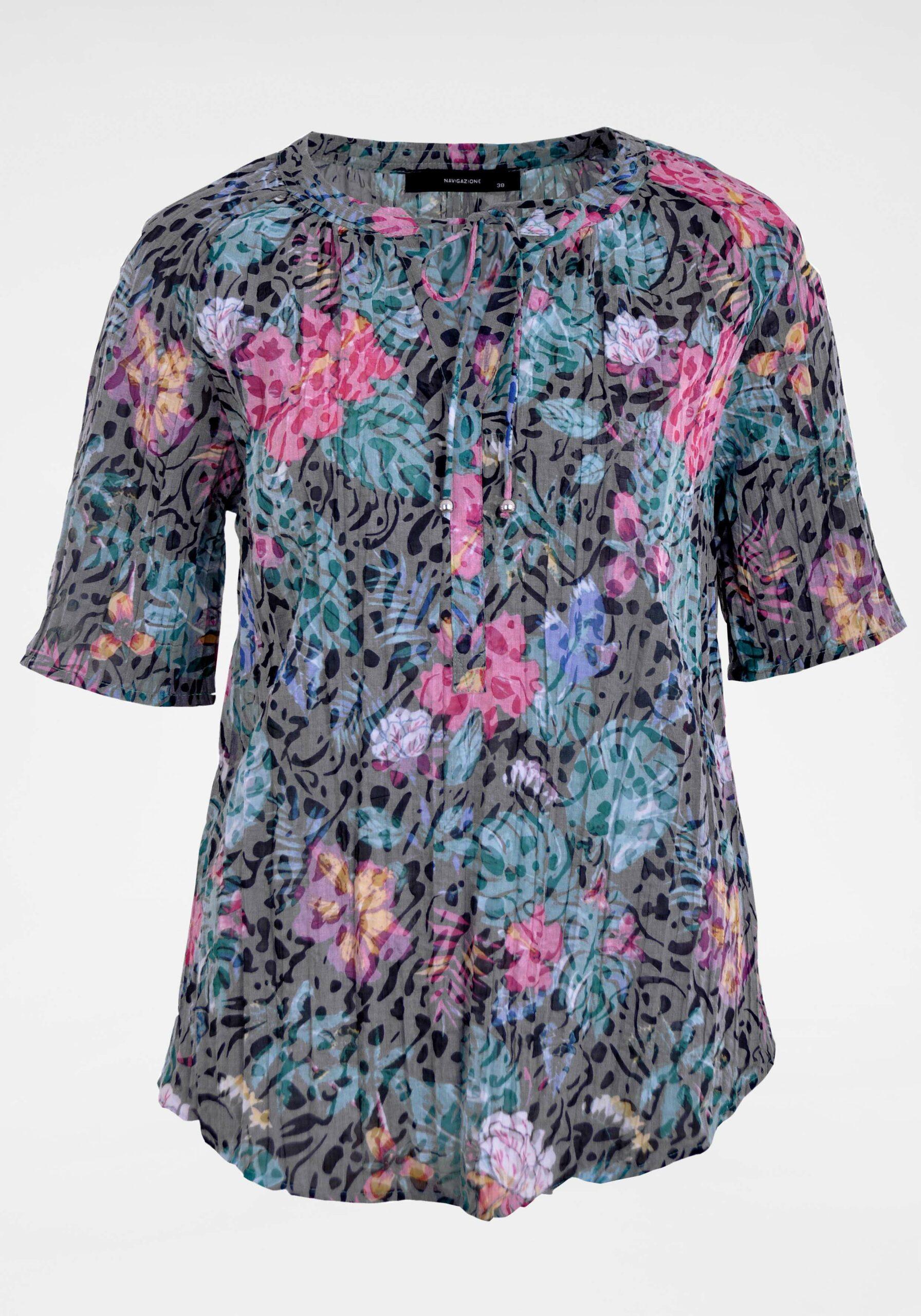 Damen Bluse in kräftigen Farben