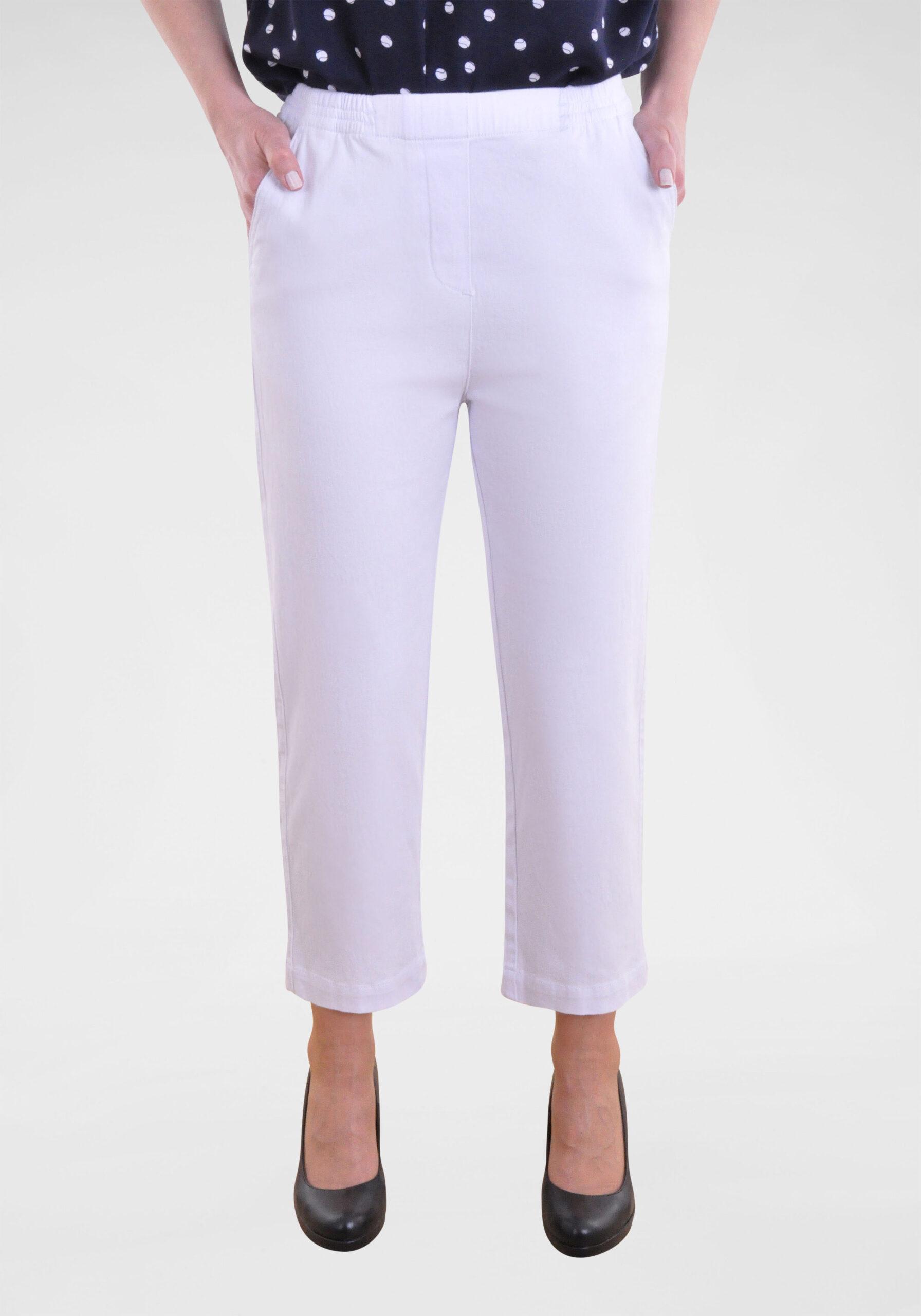 Damen Jeans in 7/8-Länge Weiß